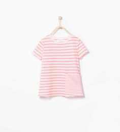 ZARA - KIDS - Organic cotton striped t-shirt