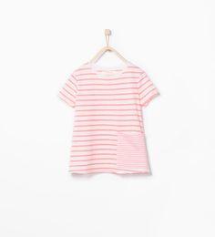 ZARA - KIDS - Organic cotton striped t-shirt