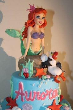 Ariel - Cake by Elena Michelizzi
