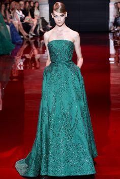 Elie Saab Fall 2013 Couture Fashion Show - Vanessa Axente (Viva)