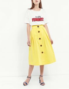 At Stradivarius you'll find 1 Buttoned midi skirt for just 25.95 Cyprus . Visit now to discover this and more Skirts.