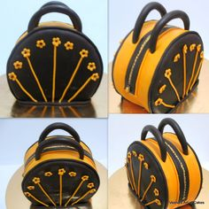 Veena's Art of Cakes: How to make A Handbag / Purse Cake