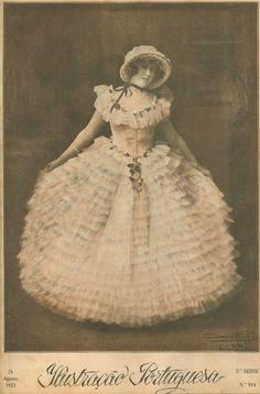 1923 - Ilustração Portuguesa cover photograph by San Payo