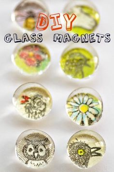 Glass Magnets   Cool Crafts for Teens   DIY Projects for Teens