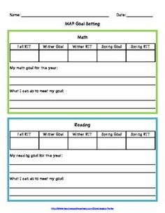 19 Awesome Nwea Goal Setting Worksheet