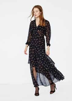 A ready-to-wear brand for women. Skirt Outfits, Dress Skirt, Wrap Dress, Maje, Catwalk, Spring Summer, Street Style, Chic, Skirts