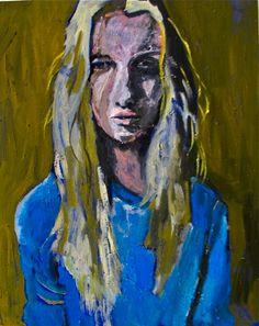 By Georgia Lobo - 40 X 50 - óleo sobre tela - Ane B.