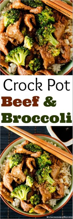 Your favorite recipe source for healthy food [Paleo, Vegan, Gluten free] Slow Cooker Beef & Broccoli! My Incredible Recipes Slow Cooker Beef Broccoli, Broccoli Beef, Crock Pot Slow Cooker, Crock Pot Cooking, Crock Pots, Cooker Recipes, Beef Recipes, Healthy Recipes, Crock Pot Recipes