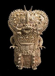 savage, visceral ceramic works of Shinichi Sawada from ilbonito.wordpress.com