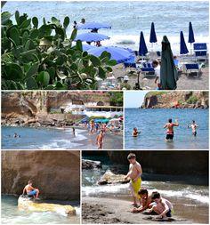 La spiaggia di Calanave: tante attività possibili per tutte le età, compresi i nostri allievi! #LNV2014 #estate2014 #Ventotene #mare #spiaggia