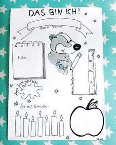 """☆ That's me ☆ Together with the welcome letter I will this """"That's … – Winter Break Portfolio Kindergarten, Kindergarten Projects, Welcome Letters, Social Trends, Letter I, Preschool, Bullet Journal, Scrapbook, Teaching"""