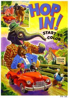 https://flic.kr/p/SKrfN9 | 1950 ... start to color! | www.flickr.com/photos/paulmalon/