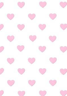 little pink hearts