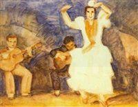 Spanish dancer Spanish Dancer, Global Art, Dance Music, Art Market, Past, Past Tense, Ballroom Dance Music
