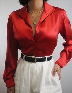 Blouse Styles, Blouse Designs, Vintage Wear, Vintage Outfits, Vintage Clothing For Sale, Lady L, Blouse Outfit, Fall Fashion Outfits, 34c