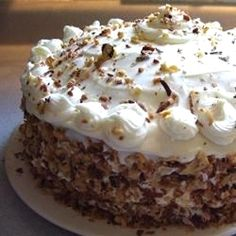 "Carrot Pineapple Cake I | ""I think this is the best carrot cake I've ever made or eaten."""