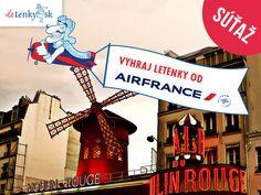 Vyhrajte dve letenky do Paríža od Air France Air France