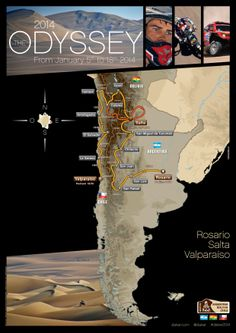 Rally Dakar 2014 | Chile, Argentina & Bolivia - January 5-18, 2014