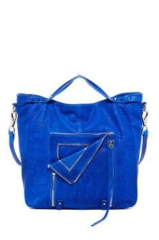 she + lo Let It Ride Leather Convertible Handbag