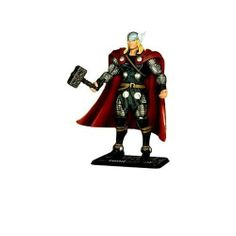 Marvel Universe Thor Action Figure -- 4'' by Disney. $13.95. 4'' H. Poseble. Plastic. Figure stand included. Includes classified file with secret code. . Poseble. Figure stand included. Includes classified file with secret code. Plastic. 4'' H. Imported. Ages 4+. See all our Marvel Universe action figures, each sold separately.