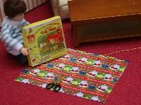 Dolls House Boys Christmas Wrapping Paper & Gift Set X68