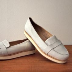 "Dagens fund > ""Platform leather loafers"" # COS"