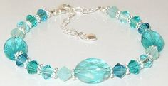 A personal favorite from my Etsy shop https://www.etsy.com/listing/124429519/swarovski-ocean-blues-aquamarine-and