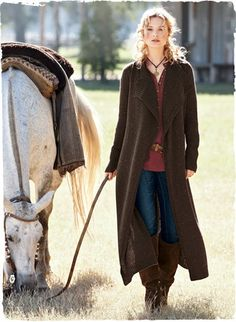 Donegal Knit Coat: So beautiful!...  and so knitable!!