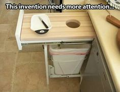 I want one in my kitchen. This would also be good for composts.
