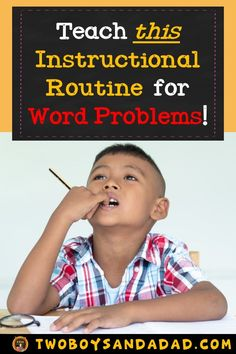 Are you using the Three Reads Instructional Routine with your students? You should be! It's a powerful strategy to teach students to reason through a math word problem.  The protocol provides a structure to help students persevere to a solution.  Read more about it on my blog post! Sign up for my newsletter and get 7 FREE Three Reads Posters!   #twoboysandadad #commoncoremath #mathroutine #mathstrategy #mathwordproblems