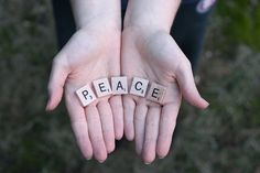 giving you peace