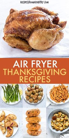These Air Fryer Holiday Recipes are delicious & delectable dishes that are also quick & easy to make! From appetizers, sides and main dishes, to desserts and breakfasts, the air fryer has got your holiday menu covered. Collection includes recipes suitable for a wide range of dietary considerations. Click through to get the Air Fryer Thanksgiving Recipes!! #airfryer #airfryerrecipes #airfryerholidayrecipes #airfryerthanksgivingrecipes #thanksgiving #airfryerchristmasrecipes #christmasrecipes
