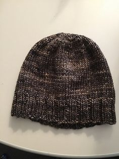 Ravelry: Simple Hat - the World's  Simplest! pattern by Stuart Moulder Bulky / 12 ply (7 wpi) ? 4 stitches and 6 rows = 1 inch in Knit US 8 - 5.0 mm 80 - 90 yards (73 - 82 m) Sizes available: Adult