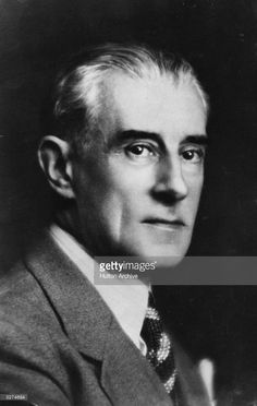 French composer Maurice Ravel (1875 - 1937).