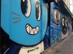 Chanoir, Paris 3, angle rue Voltan rue Notre Dame de Nazareth, 2014-10 (5)