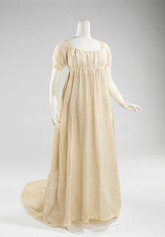 Dress 1800-1805, Met Museum.