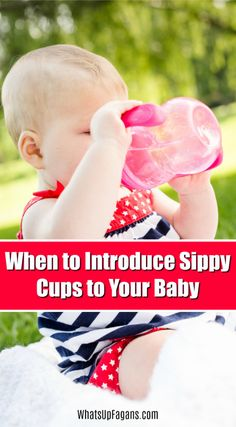 when do babies use sippy cups? Get all your answers about transitioning babies from breastmilk and bottles to sippy cup and trainer cups and from formula to sippy cups. Good Parenting, Parenting Hacks, Teaching Babies, Sippy Cups, Baby Hacks, Baby Tips, Breastfeeding And Pumping, Toddler Preschool, Toddler Food