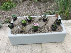 belfast sink planter - Google Search Belfast Sink Garden Planter, Garden Sink, Plant Pots, Potted Plants, Ponds For Small Gardens, Mini Pond, Butler Sink, Old Sink, Alpine Garden
