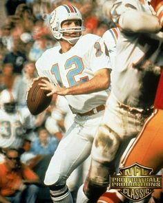 "43 Likes, 1 Comments - NFL Classic (@nflclassic) on Instagram: ""#NFLclassic presents a ""Photo to Remember"" of #Superbowl #Vll as Miami Dolphins Quarterback #Bob…"""