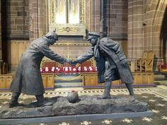 WW1 Memorial at Liverpool Cathedral