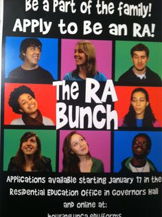 A fun idea for RA application ads. outside bullitain board for chandler Ra College, College Life, Staff Bulletin Boards, Recruitment Themes, Ra Boards, Residence Life, Resident Assistant, Res Life, Student Council