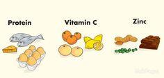 Zinc, Vitamin C, and Calcium will help you grow taller.
