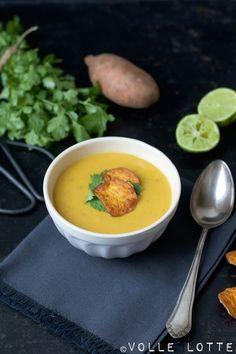 Exotische Süßkartoffel-Suppe mit Kokosmilch - traumhaft einfach