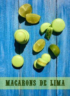 Cocina para burros: Macarons de lima (con merengue italiano)