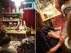 Lezione di bon ton e Arte della tavola da Oui! Fleurs et Maison con Madame Eleonora Photo by Federica Piccinini