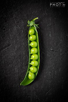 Franck Hamel - French food photographer... Perfect Peas in a Pod