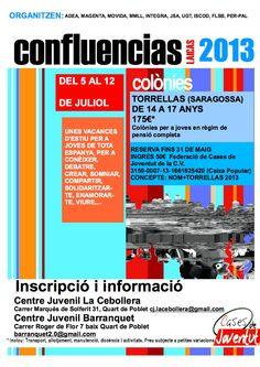 Confluencias 2013 http://quartjove.quartdepoblet.es/index.php/confluencias-2013/