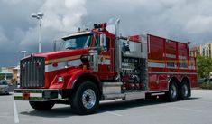 Broward Sheriff Fire Rescue, FL - Kenworth T-800/Pierce Engine, Water/Foam Tanker