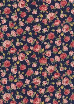 Delicate surface pattern of roses.