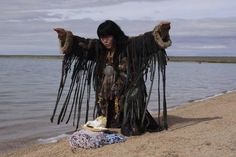"Tuvan female Kam (Shaman) ""Ay Churek"""